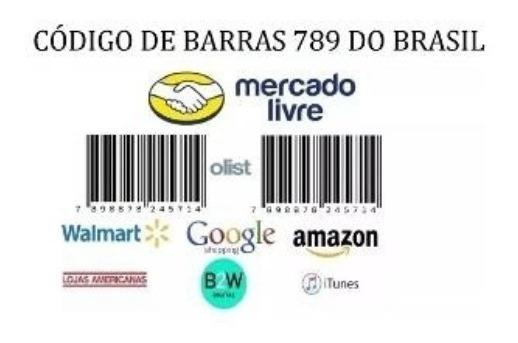 300 Códigos De Barras Ean Upc Válidos Para Mercado Livre 789