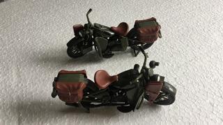 1 Harley Davidson 1942 Flathead 1:18 Maisto Militar Plástico