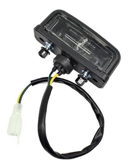 Luz De Placa Licença Lanterna Honda Bros 160 / Bros 150