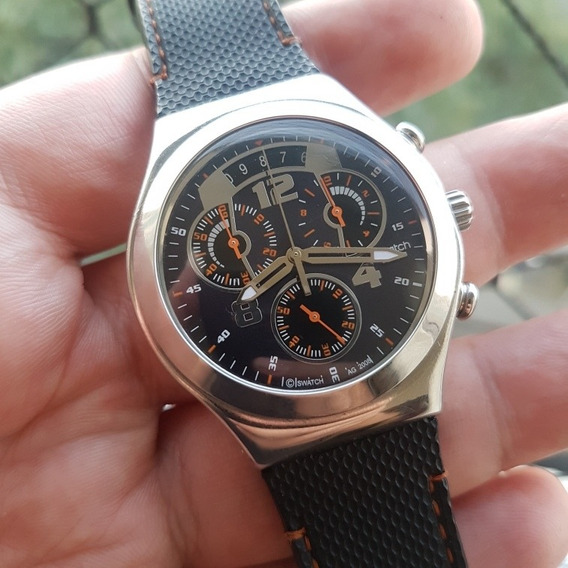 Swatch Irony Fine Steel Ycs514 - Ótimo Estado