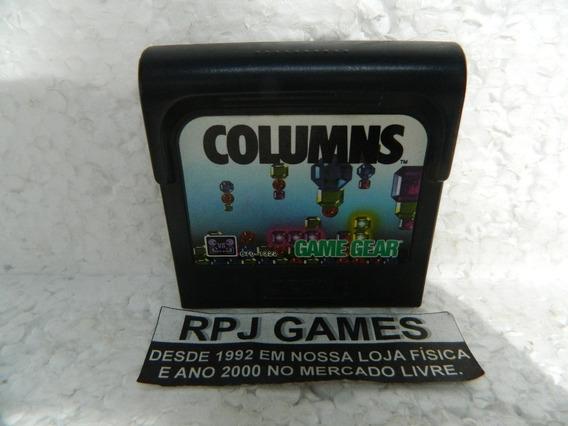 Columns Original P/ Game Gear - Loja Centro Rj