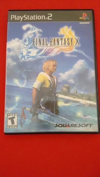 Final Fantasy X Ps2 Original Americano Completo