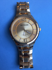 1188ff869735 Reloj Miykon Dorado - Joyas y Relojes en Mercado Libre México