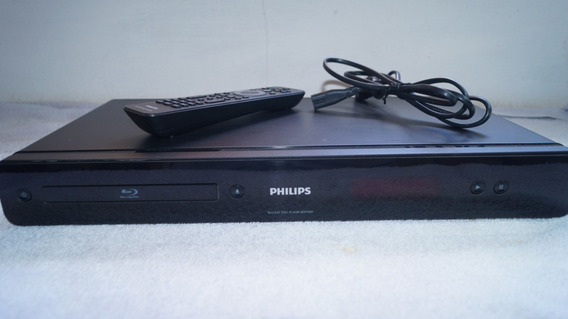 Blu-ray Player Philips Full Hd Suporte Dolby Atmos Dts X Top