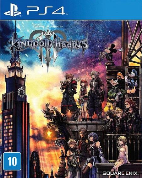 Kingdom Hearts 3 Ps4 Novo Lacrado