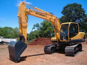 Escavadeira Hyudai 140 Série 9s Ano 2013