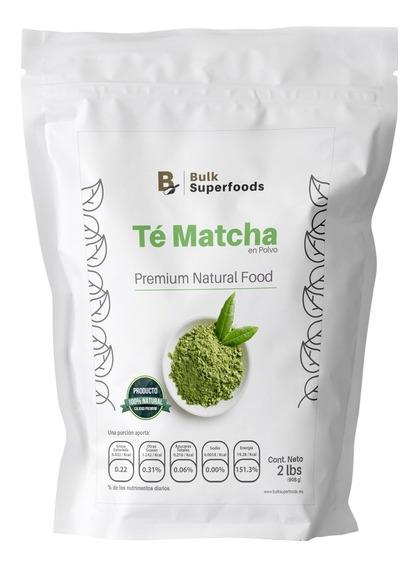 Té Matcha En Polvo Premium Aa 2lbs Marca Bulk Superfoods