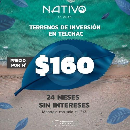 Imagen 1 de 5 de Lotes De Inversión En Yucatán Cerca De La Playa De Telchac