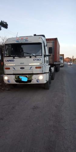 Vendo Ford Cargo 1730 Y Semi Remoque Solo O Enganchado