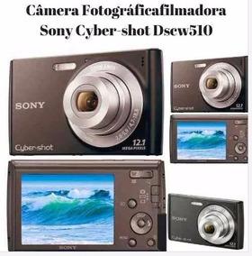 Câmera Fotográficafilmadora Sony Cyber-shot Dscw510 12.1mp