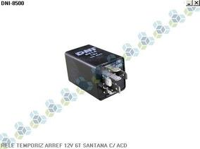 Rele Temporizador Arrefecimento 12v 6t Santana C/ Acd