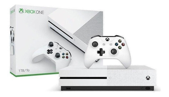 Xbox One S 1tb Branco - Microsoft **novo**