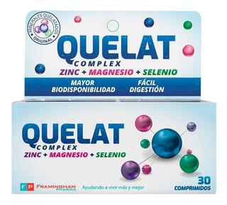Combo 4 Quelat Complex- 120 Comprimidos