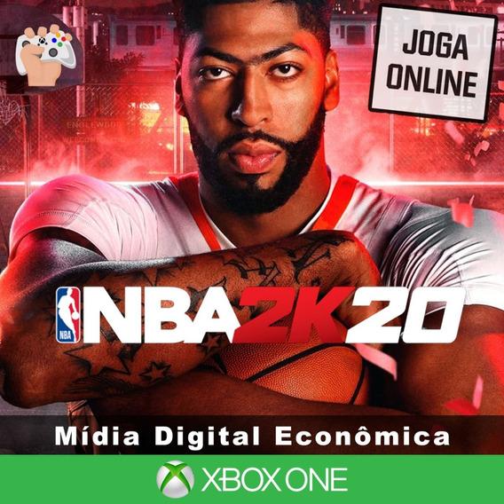 Nba 2k20 - Xbox One - Mídia Digital + Brinde