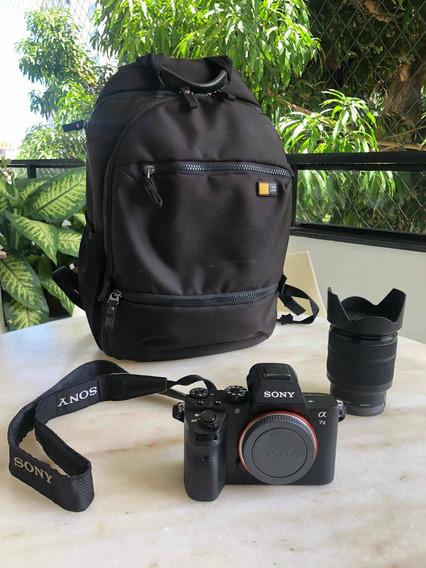 Câmera Sony @7 Ii - Lente Sony 28/70 - Sacola Case Logic