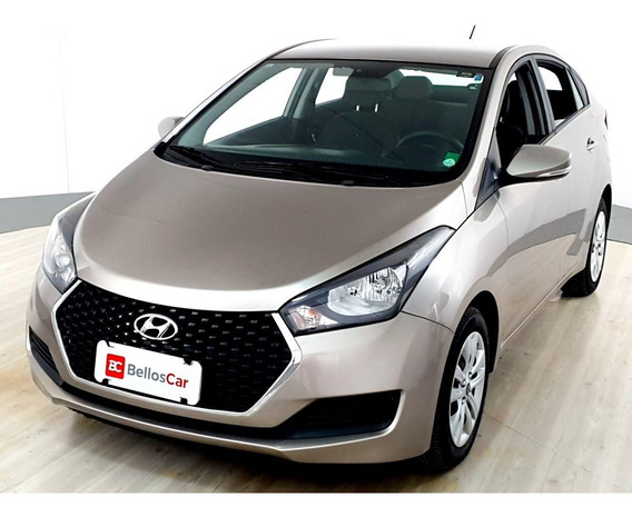 Hyundai Hb20s C.plus/c.style1.0 Flex 12v Mec. 4p - Prata...