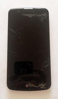 Lg K10 Dual Celular Tela Quebrada K430tv