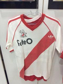 Camisa River Plate Libertadores 1986 - Replica - Frete Grati