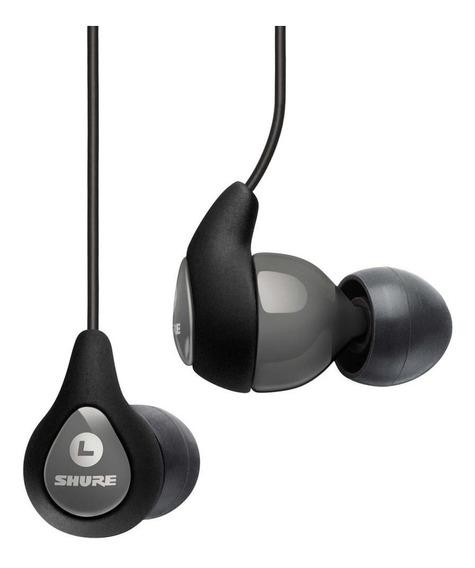 Fone De Ouvido Shure Se112 Gray Cinza In Ear 2 Anos Garantia
