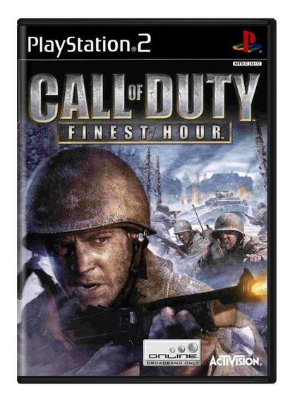 Call Of Duty Finest Hour Ps2 Mídia Física Pronta Entrega