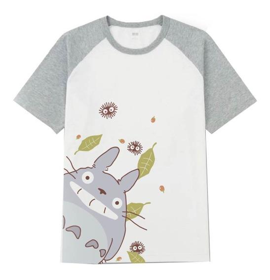 Remera Mi Vecino Totoro Ghibli