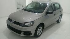 Volkswagen Gol Trendline 1.6 5 Puertas Negro 2018 0km