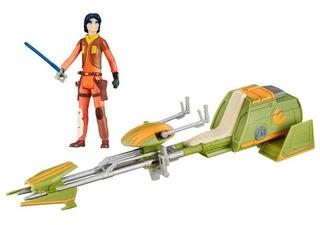 B3716 Jedi Ezra Bridger Speeder Bike Rebels Star Wars Hasbro