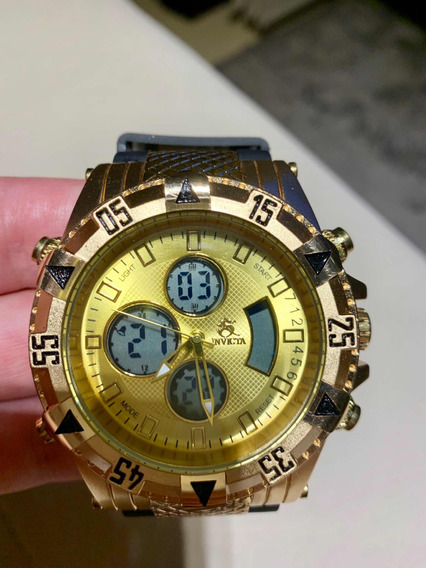 Relógio Invicta Subaqua Original Com Nf