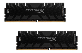 Memória 16gb (8gb X 2) Ddr4 3200mhz Kingston Hyperx Predator