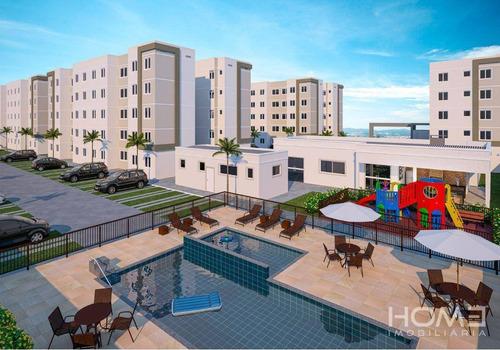 Imagem 1 de 13 de Apartamento À Venda, 45 M² Por R$ 163.000,00 - Campo Grande - Rio De Janeiro/rj - Ap1337