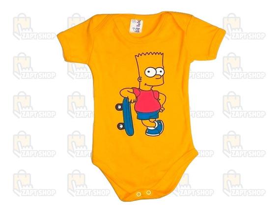 Body Baby Personalizado Desenhos Animados - Promoção