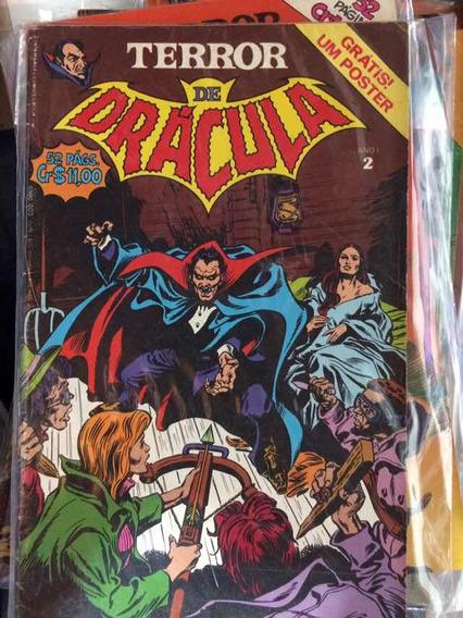 Terror De Dracula 1 Ao 11 Ed Abril Raro