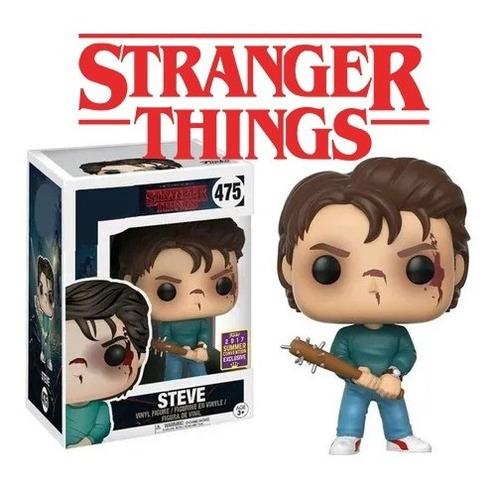 Funko Pop Steve 475 Stranger Things Edicion Exclusiva