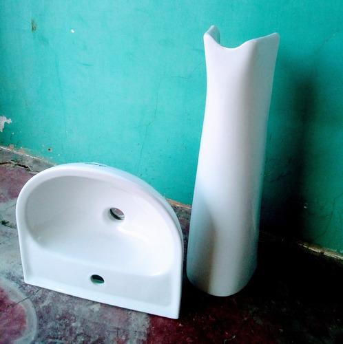 Lavamanos Nuevo Con Pedestal