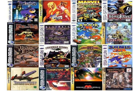 Patch Jogos Sega Saturn, Acima De 5 Frete Gratis, Valor Cada