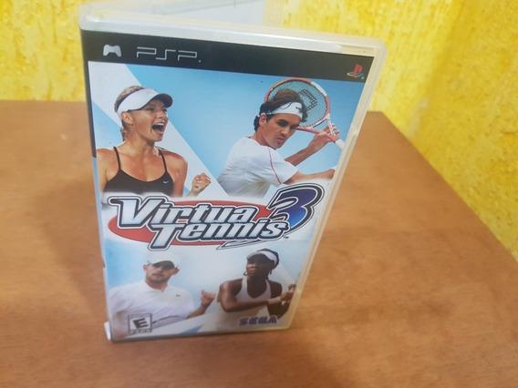 Virtua Tennis 3 Usado Original Psp Mídia Física