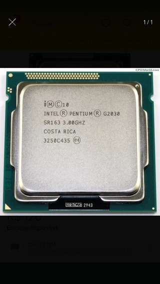 Processador Intel G2030 Socket 1155 3ghz