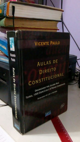 Aulas De Direito Constitucional Teoria E 1000 Exercicios E 8