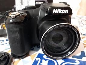 Câmera Semi Profissional - Nikon Coolpix L315 - 16mp