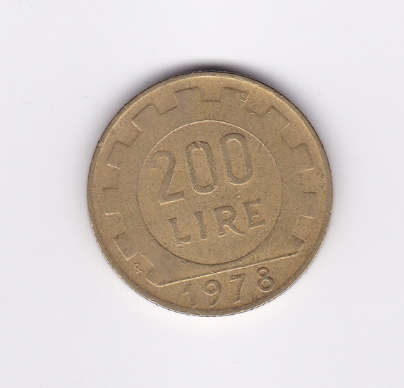 Ltc157. 200 Liras Italianas De 1978.