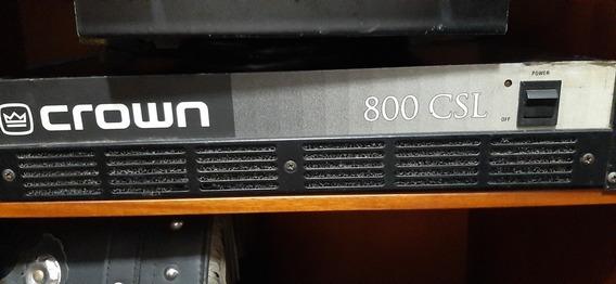 Potencia Crown Amplificador 800 Csl