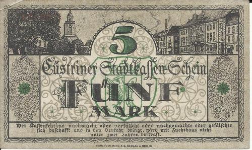 Imagen 1 de 2 de Alemania 5 Marcos 1918