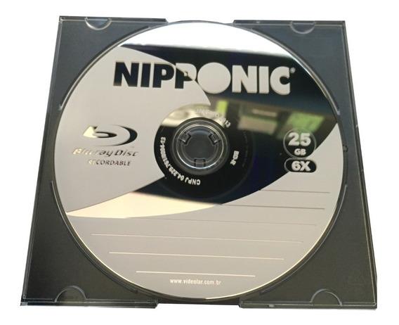 100 Blu-ray Bdr 25gb Nipponic 6x