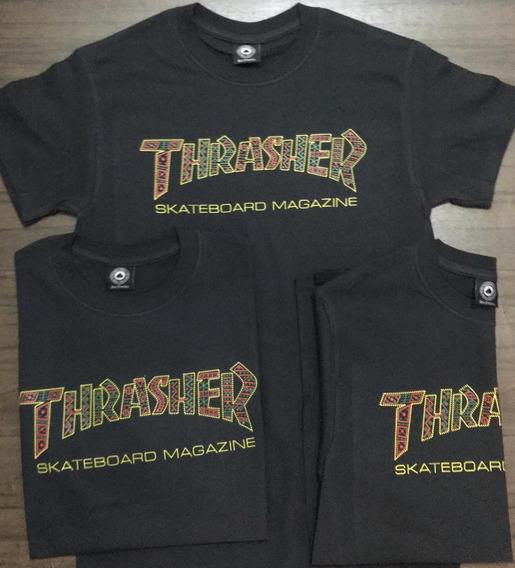 Playeras Thrasher Logo Navy