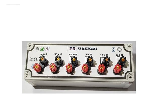 Decada Resistiva P/ Calibração 20g Ohm / 10kv + Rbc