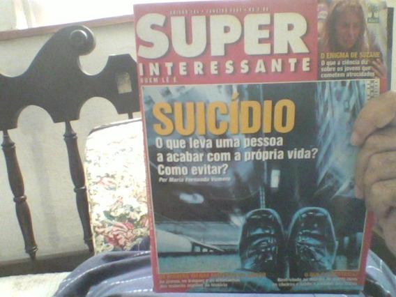 Super Interessante - Suicídio / 184 / Jan 2003