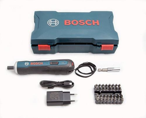 Atornillador Bosch Go Batería 3,6 Volt C/33 Puntas + Maletin