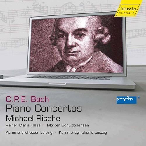 Bach, C.p.e. / Rische / Sprenger Piano Concertos Cd Us Imp