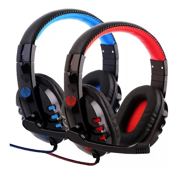 Headfone Fone Ouvido Gamer P2 Com Microfone - Exbom Hf-g230