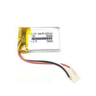 Batería Recargable Mp3/4/5 Psp Gps 502030 3.7v 250 Mah